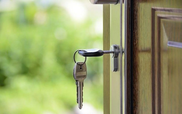 kunci rumah saat mudik